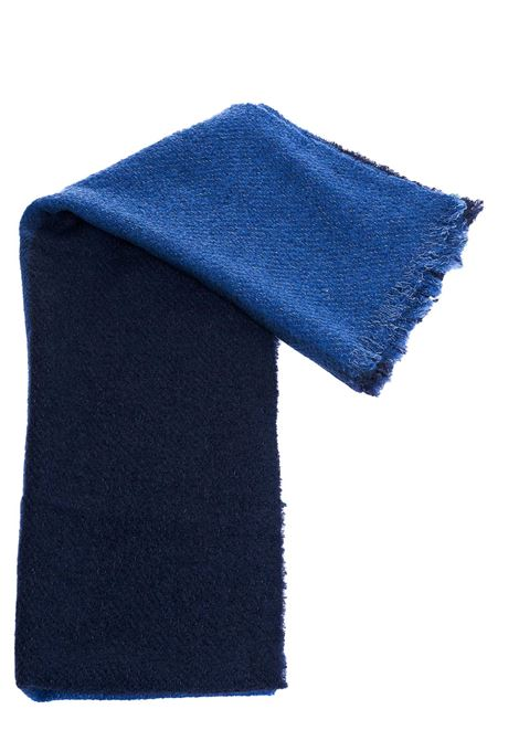 TWO-TONE WOOL AND CASHMERE BLEND SCARF DESTIN | Scarfs | MELISABIM