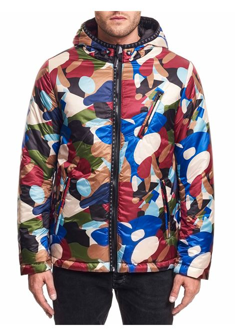 MULTICOLOR COMPONABLE AND REVERSIBLE JACKET DIVISIBILE | Jackets | 10081+10090+10043FANTASIA