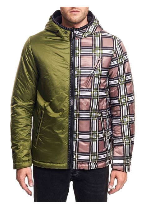 MULTICOLOR COMPONABLE AND REVERSIBLE JACKET DIVISIBILE | Jackets | 10097+10076+10081FANTASIA