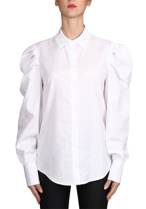 WHITE SHIRT WITH OVER SLEEVE DONDUP | Shirts | DC084PF0014DXXXPDD000