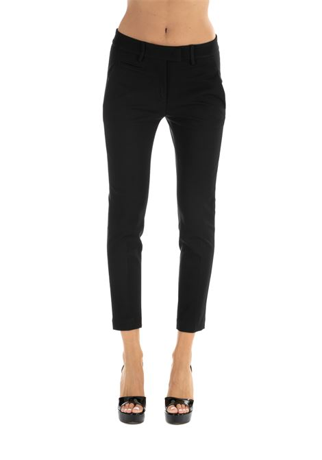 PERFECT PANTS IN VISCOSE DONDUP | Pants | DP066JS0108XXXPDDW19999
