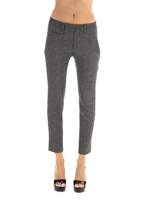 GRAY PERFECT PANTS DONDUP | Pants | DP066OS0099XXXPDDW19999