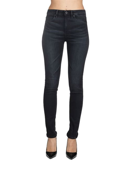 BLACK IRIS SUPERSKINNY FIT COTTON JEANS DONDUP | Jeans | DP450DS0249W46PDDW19999