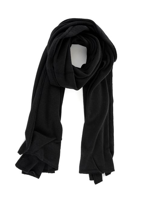BLACK SCARF DONDUP | Scarfs | UK074Y00345XXXDUW19999
