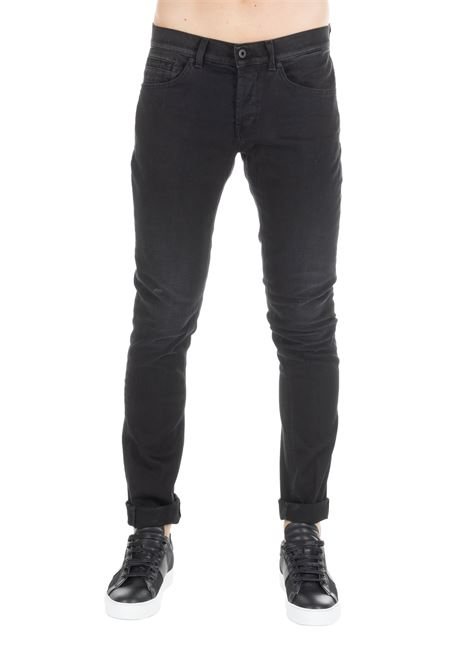 BLACK GEORGE JEANS DONDUP | Jeans | UP232DS025533WDUW19999