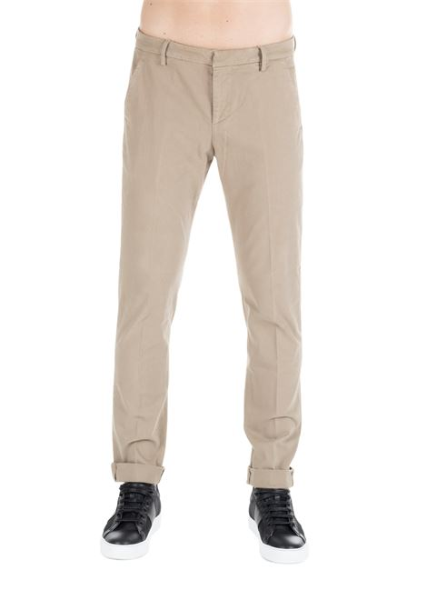 BEIGE GAUBERT TROUSERS DONDUP | Pants | UP235GS0043PTDDUW19019