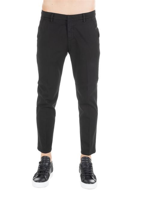 BLACK ALFREDO PANTS DONDUP | Pants | UP518GS0023PTDDUW19999