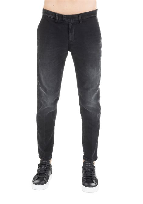 PABLO BLACK TROUSERS DONDUP | Pants | UP525DS0255W34DUW19999