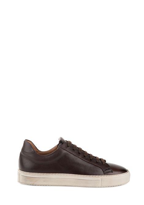 SNEAKER MARRONE IN PELLE BALM EBANO DUCA DI WELLS | Sneaker | NU2230KOBEUF096SM02EBANO