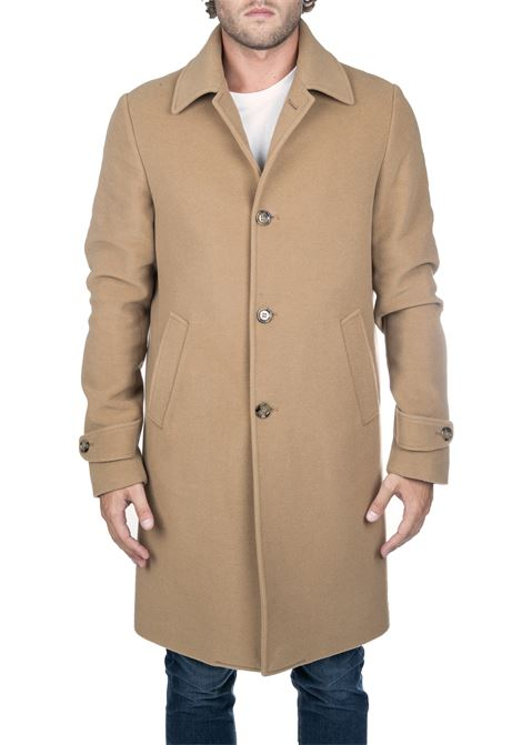 BEIGE COAT IN WOOL AND CASHMERE ELEVENTY | Coats | 979CS0179CAS2803204