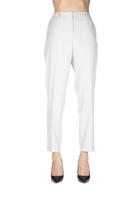 MONTEFALCO BEIGE PANTS IN WOOL FABIANA FILIPPI | Pants | PAD129B918B818095