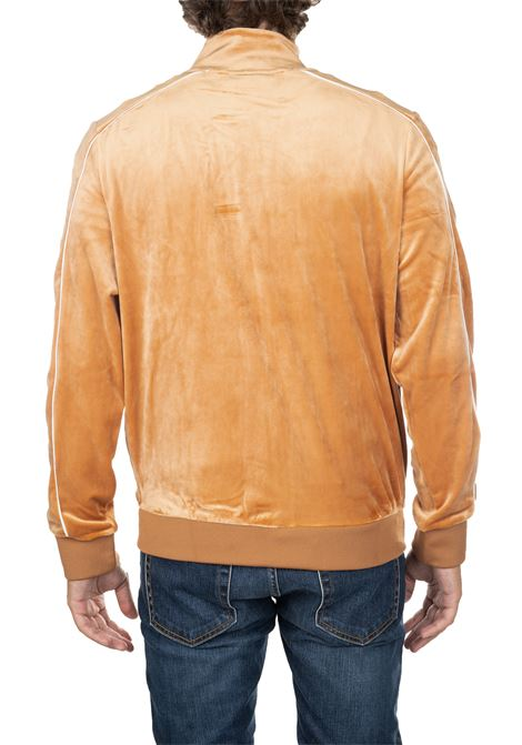 CARAMEL SWEATER IN CINIGLIA WITH FRONT LOGO EMBROIDERY FILA | Sweatshirts | 684559A369