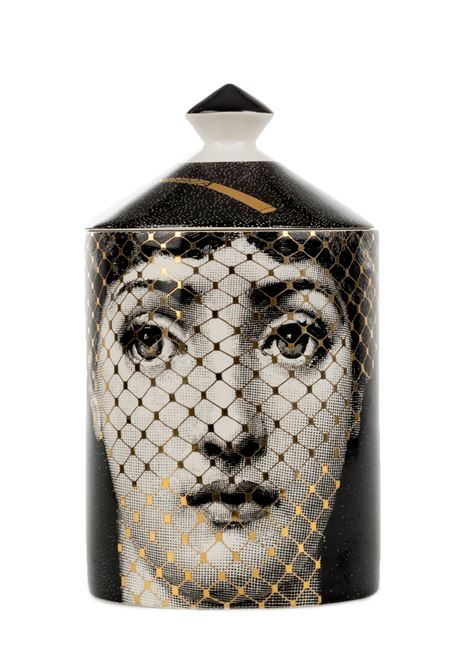BURLESQUE GOLDEN SCENTED CANDLE FORNASETTI |  | CAN300GOLDENBURLESQUEMULTICOLOR