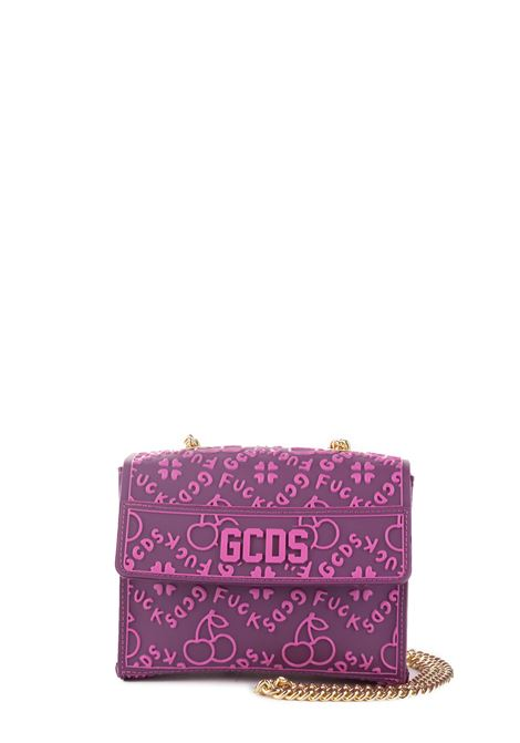 VIOLET CHERRY SHOULDER BAG GCDS | Bags | FW20W01001811