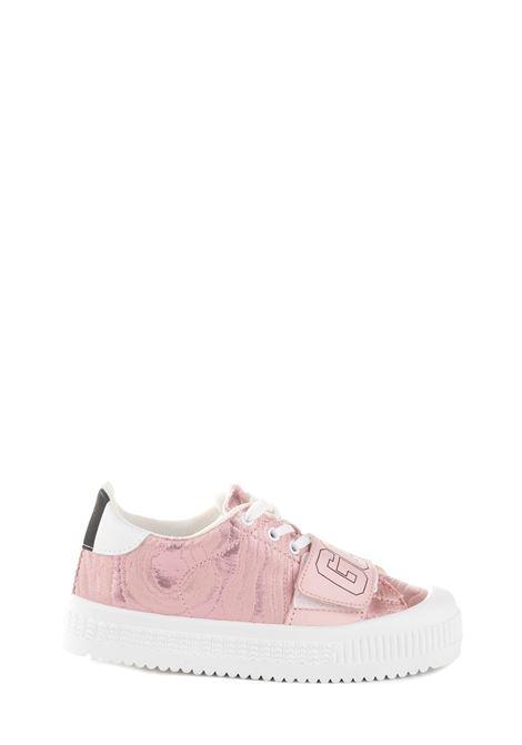 PINK LEATHER SNEAKER GCDS | Sneakers | FW20W01011606
