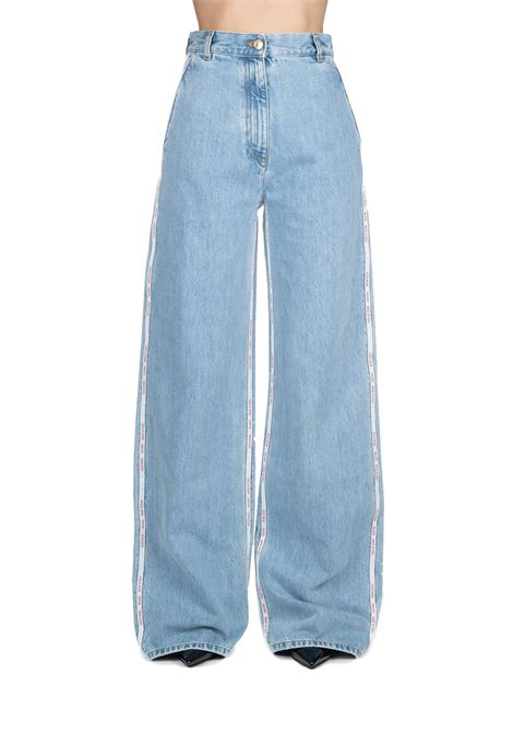 JEANS IN DENIM HIGH LIFE IN COTTON GCDS | Jeans | FW20W03005307