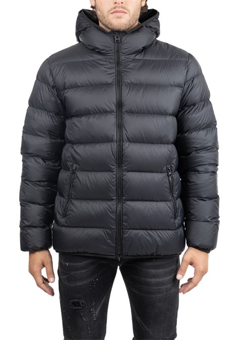 LIGHT BLACK DOWN FEATHER FEATHER GRIFONI | Jackets | GF161043/42999