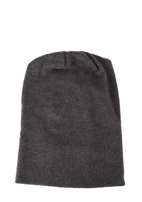 CASHMERE CLASSIC GRAY HAT GRIFONI | Hats | GF190006/56950