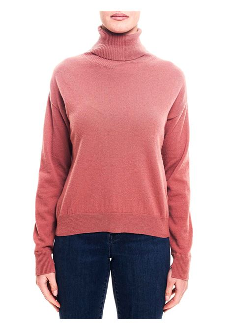 PINK WOOL HIGH NECK SWEATER GRIFONI |  | GF210014/66425