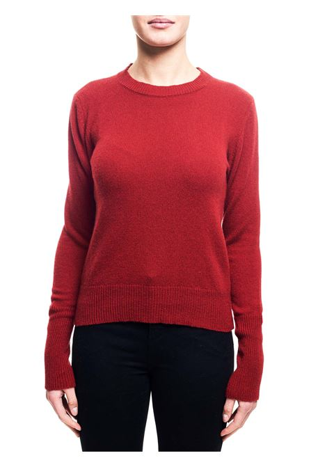RED SWEATER IN CASHMERE GRIFONI | Sweaters | GF210027/67360