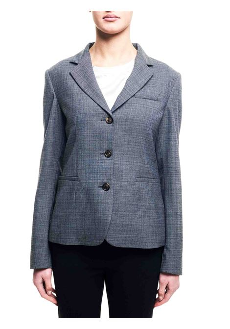 SINGLE BREASTED BLAZER IN GRAY WOOL BLEND GRIFONI |  | GF234000/182001