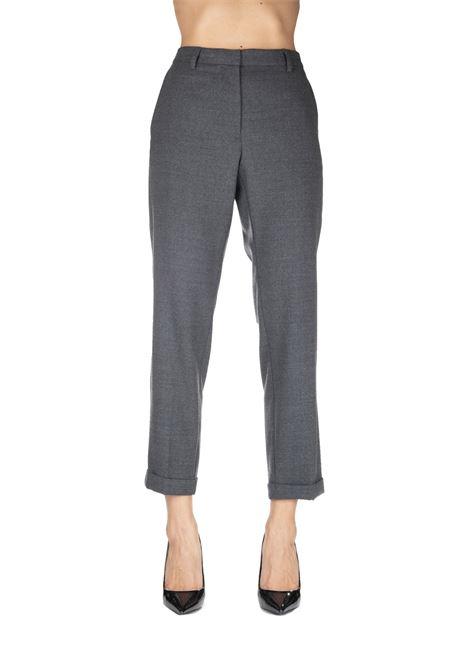 GRAY PANTS MIXED IN WOOL MIXED GRIFONI | Pants | GF240972/182001