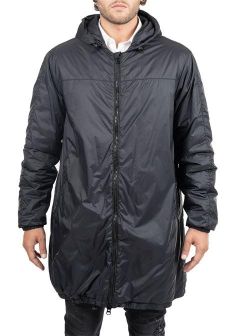 BLACK WATERPROOF JACKET GRIFONI | Jackets | GF360019/42999