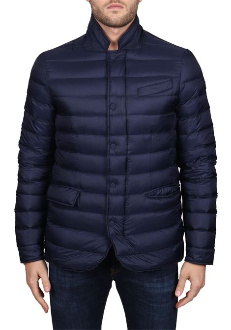 BLUE QUILTED BEEMIN DOWN JACKET HETREGO | Jackets | 8H403F19WU01BLU