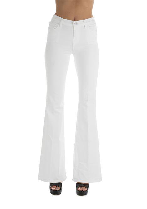 PAINTED VALENTINA WHITE TROUSERS J BRAND | Jeans | JB002355J1617