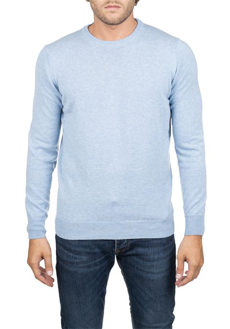 CLASSIC LIGHT BLUE JERSEY KANGRA | Sweaters | 800301REGULAR22