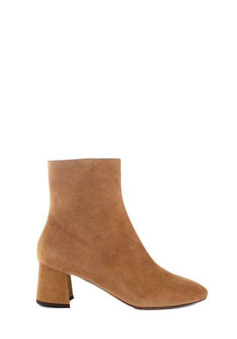 CAMEL CAMEL SUEDE CIGAR L'AUTRE-CHOSE | Ankle Boots | LDK071.60WP05402106