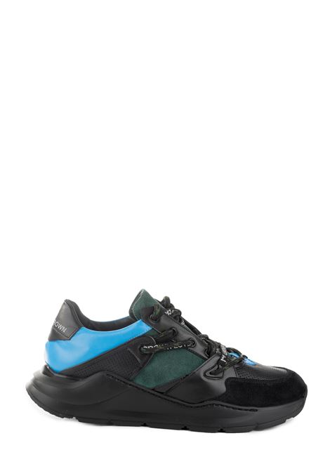 SNEAKER BORDER LINE RUNNING LEATHER CROWN | Sneakers | MBRDL404