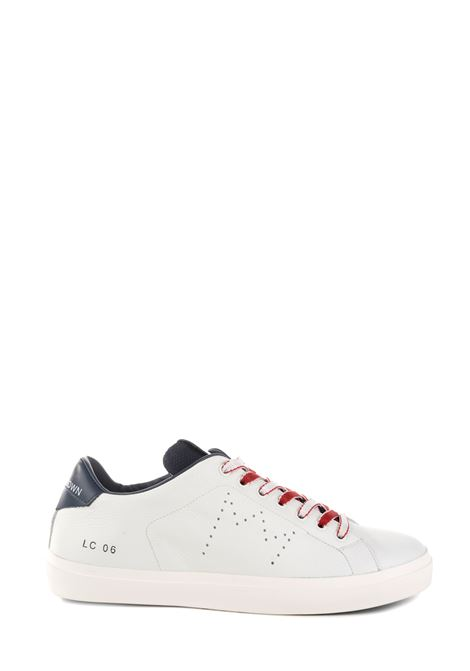 SNEAKER BIANCA IN PELLE TRASFORATE LEATHER CROWN | Sneakers | MLC06402