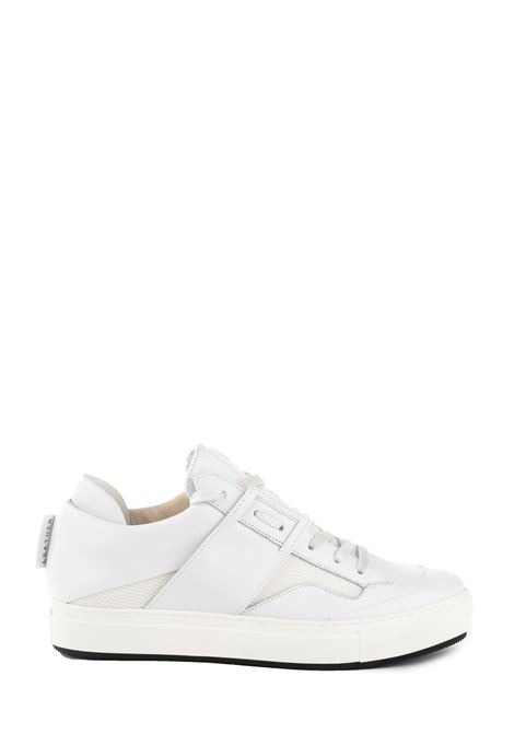 WROCK 401 WHITE LEATHER SNEAKER LEATHER CROWN | Sneakers | MROCK401