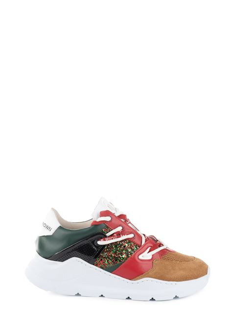 BORDER LINE SNEAKER LEATHER CROWN | Sneakers | WBRDL406