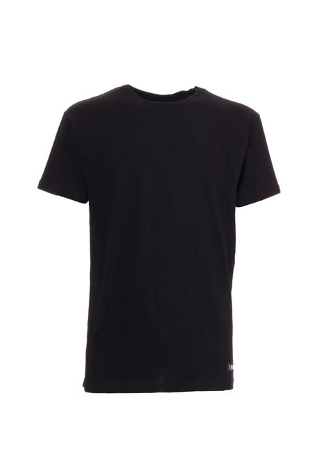 TISCI 74 BLACK COTTON T-SHIRT LES ARTISTS | T-shirt | LA09TEE1003BLACK
