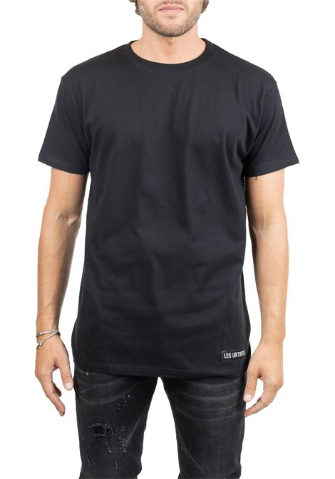 BLACK COTTON T-SHIRT MARGIELA 57 LES ARTISTS | T-shirt | LA09TEE1001FGNBLACK