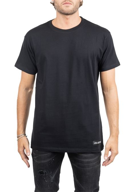 BLACK COTTON T-SHIRT TISCI 74 LES ARTISTS | T-shirt | LA09TEE1003FGNBLACK