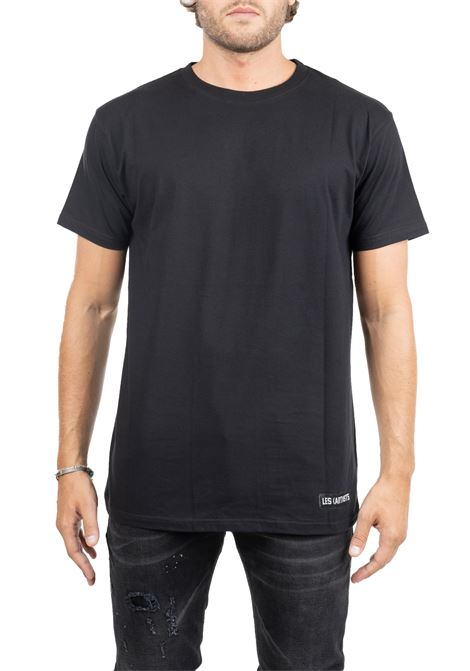 BLACK COTTON T-SHIRT KAYNE 77 LES ARTISTS | T-shirt | LA09TEE1024FYLWBLACK