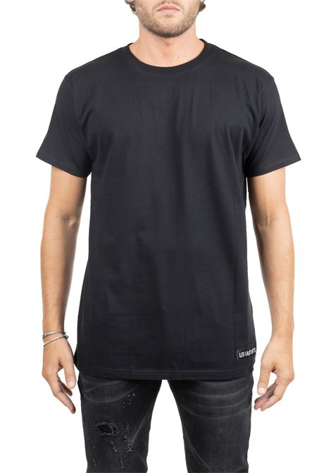 BLACK COTTON T-SHIRT RAF 68 LES ARTISTS | T-shirt | LA09TEE1123FGNBLACK