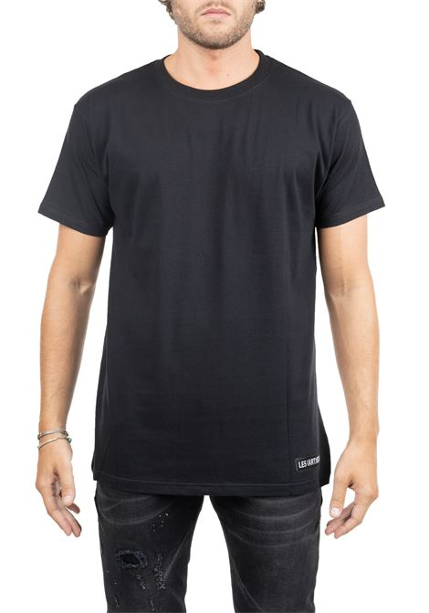 MIUCCIA 49 BLACK COTTON T-SHIRT LES ARTISTS | T-shirt | LA09TEE1124BLACK