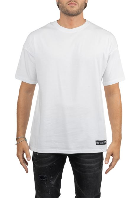 WHITE COTTON T-SHIRT TISCI LES ARTISTS | T-shirt | LA09TEE202WHITE