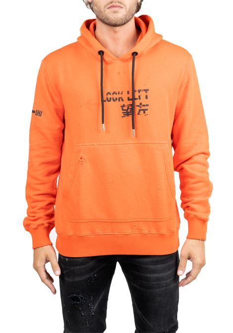 SWEATSHIRT IN COTTON ARANACION WITH LOGO ON RIGHT ARM LES HOMMES | Sweatshirts | UHH402757P5209