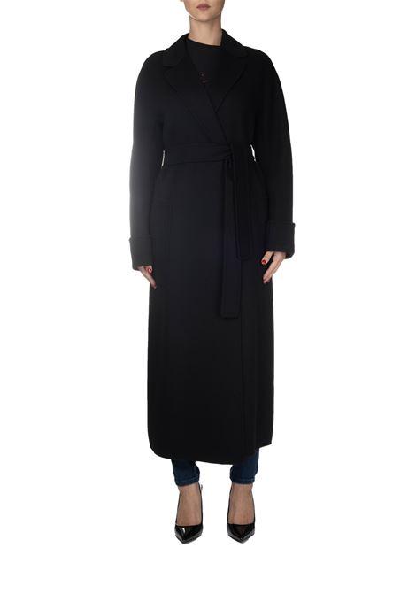 BLACK WOOL COAT MAX MARA'S | Coats | ALGERI90161699000013