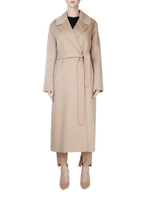VINCENT BEIGE WOOL COAT MAX MARA'S | Coats | VINCENT90161199000044