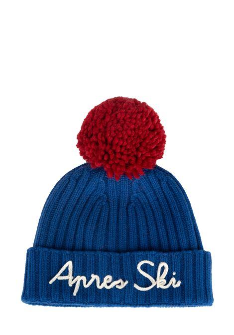 BLUE APRES SKI HAT MIXED WOOL MC2SAINTBARTH | Hats | WENGAPRESSKI1741