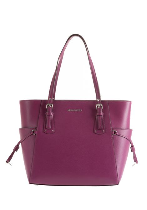 PLUM BAG WITH LOGO MICHAEL DI MICHAEL KORS | Bags | 30F8SV6T4LVOYAGER528