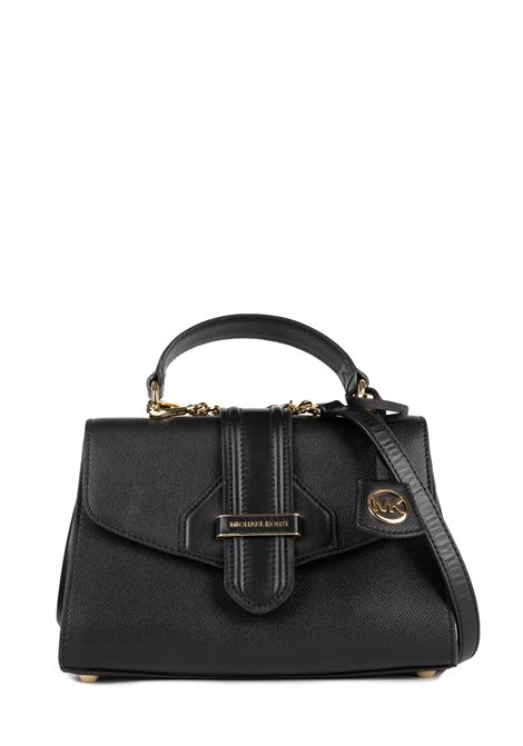 BLACK BLEECKER SHOULDER BAG MICHAEL DI MICHAEL KORS | Bags | 30F9G0BS1LBLEECKER001