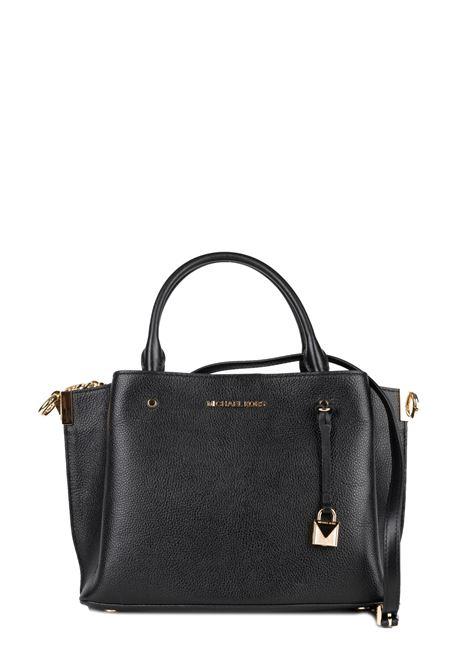 BLACK HAND BAG ARIELLE MICHAEL DI MICHAEL KORS | Bags | 30F9GI5S3LARIELLE001