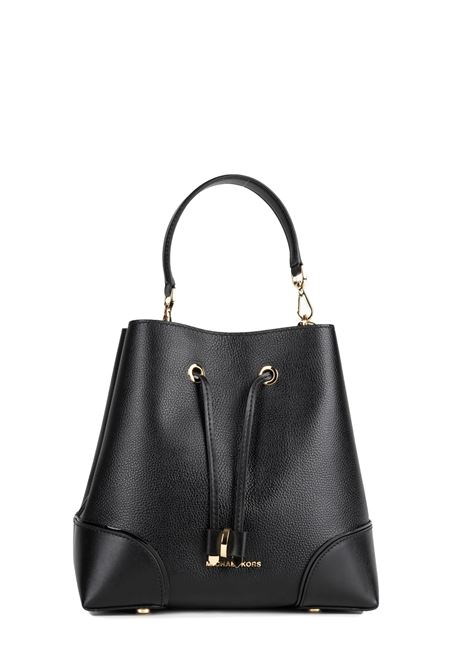 BLACK SHOULDER BAG MERCER GALLERY MICHAEL DI MICHAEL KORS | Bags | 30F9GZ5L6LMERCERGALLERY001